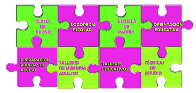 puzzle encajado